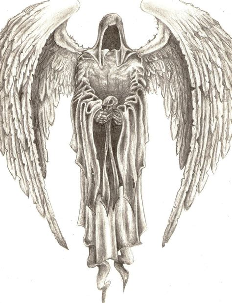 angel of death tattoo drawings drawings pictures drawings