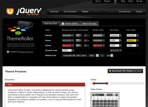 theme creator jquery introducing themeroller design download custom themes
