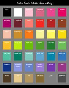 perler bead colors the world s catalog of ideas
