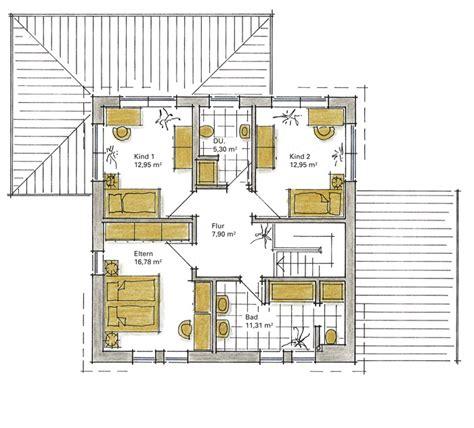 Grundriss Quadratisches Haus by Einfamilienhaus Bavenstedt Ein Fertighaus Gussek Haus