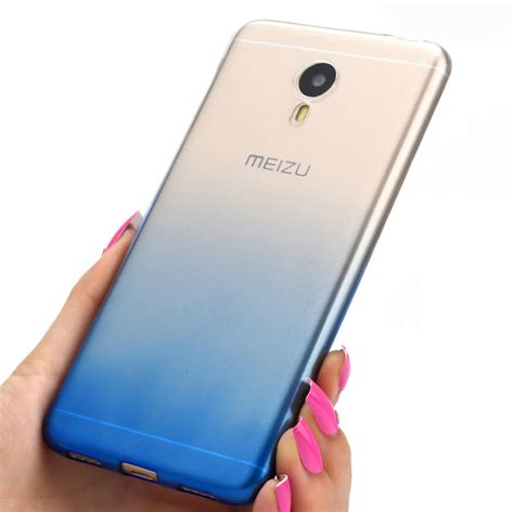 Silicon Casing Softcase Meizu M3 Note gradient cover for meizu m3 note soft tpu silicone transparent cover for meizu meilan note