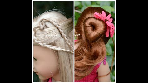 american doll hairstyles inspired by cutegirlshairstyles