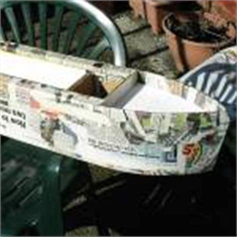 How To Make A Paper Mache Boat - papier mache articles papier mache narrowboat