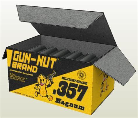 Half Papercraft - papermau half black mesa magnum 357 ammo box