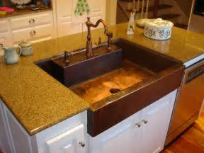 Custom Kitchen Sink Custom Copper Kitchen Sink Joel Misita Archinect