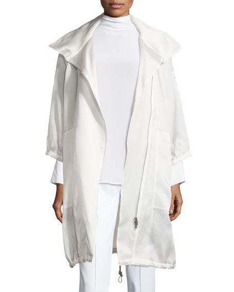 Organza Jacket misook collection sheer silk organza jacket