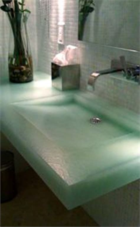 Bio Glass Countertops by Bathroom Remodel On Glass Walls Shower