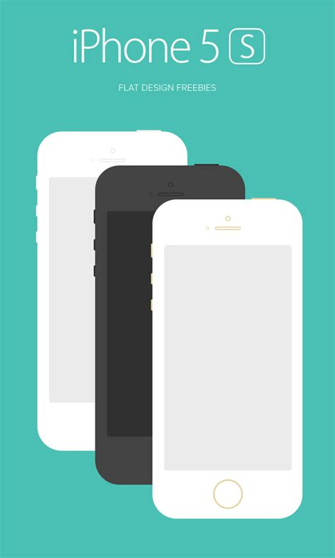flat design app mockup best latest iphone 5s and iphone 5c mockup templates