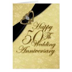 damask 50th wedding anniversary greeting card zazzle
