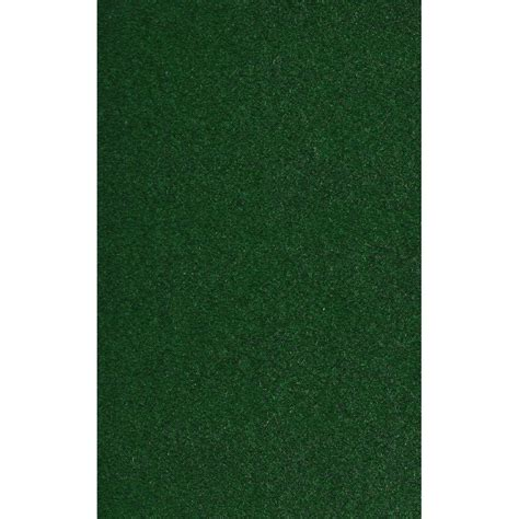 Foss Fairway Green 6 Ft X 8 Ft Indoor Outdoor Area Rug Green Rug