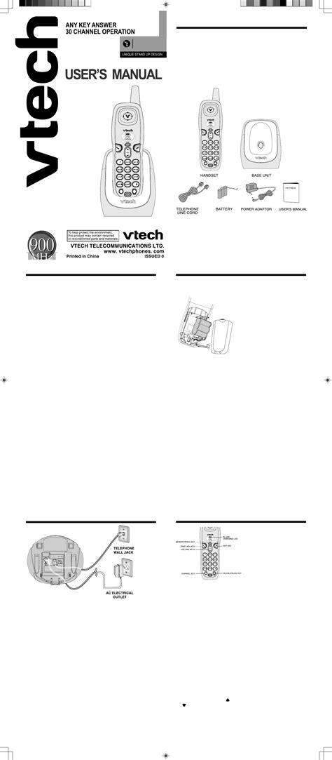 one user manual vtech cordless telephone 2101 user guide manualsonline