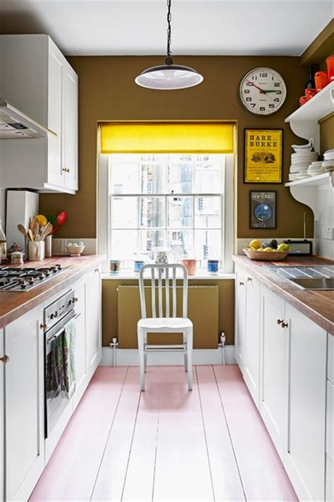 galley kitchen designs uk white cabinets green paint small kitchen design ideas houseandgarden co uk