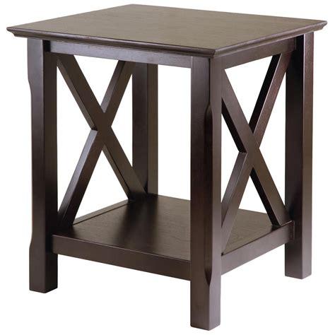 castlecreek gun concealment end table winsome xola end table 196690 living room at sportsman