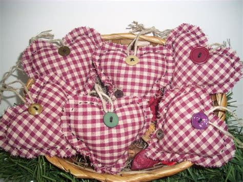 Handmade Fillers - country plum handmade bowl fillers ornaments