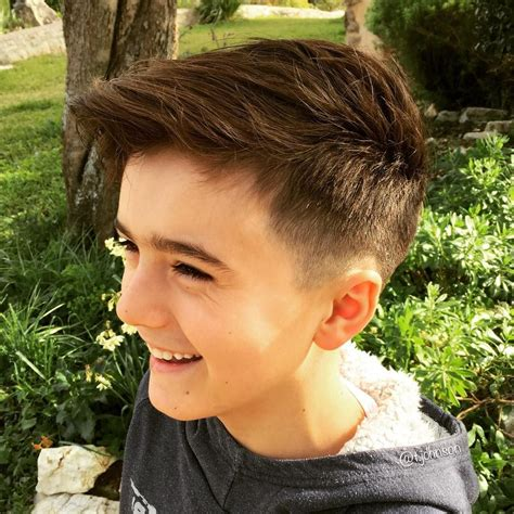 25 cool boys haircuts to get in 2018 new look