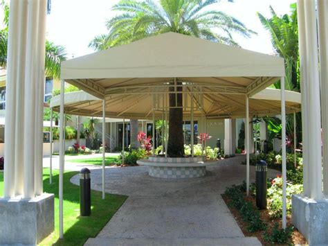 miami awnings escalator canopies walkway covers miami awning