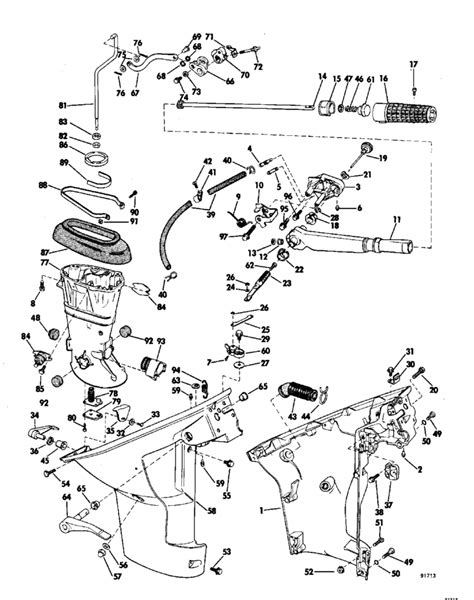 johnson outboard parts diagram 8 hp mercury outboard parts diagram boat engine parts