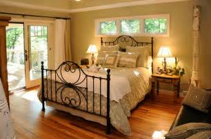 Decorating Ideas For Country Bedroom Country Master Bedroom With Flush Light By Jg Development