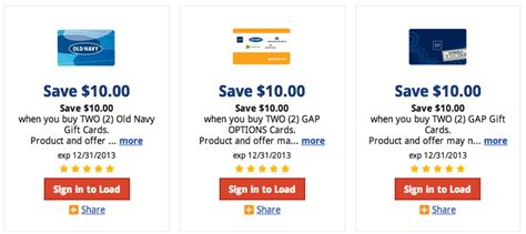 Kroger Gift Card Deals - gift card kroger coupons old navy gap itunes and more kroger krazy