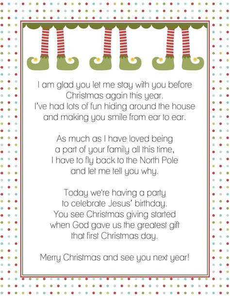 printable magic elf letters 17 best ideas about elf goodbye letter on pinterest elf