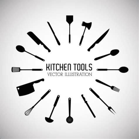 free logo design tool download kitchen tools vector illustration set 14 vector life