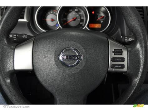 electric power steering 2010 nissan versa auto manual 2009 nissan versa 1 8 s hatchback charcoal steering wheel photo 39734375 gtcarlot com