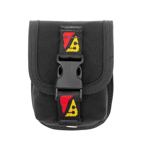 Velcro 4 Inc Atau 10cm travel weight pocket with velcro attachment dive rite