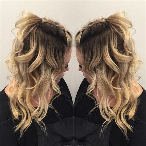 going out wavy hairstyles beautiful coiffures fris 233 es and blond boucl 233 on pinterest