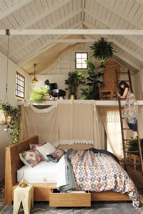 Pictures Of Loft Bedrooms by Cozy Loft Bedroom Planters