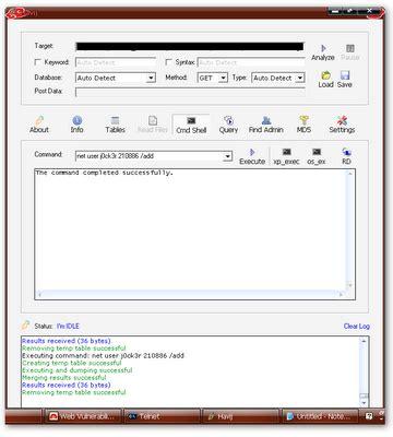 hack havij tutorial hack rdp dengan havij blitar code security