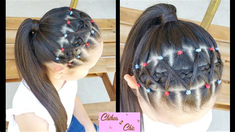 Elastic Hair Band Hairstyles | elastic bands braided headband hairstyles for school
