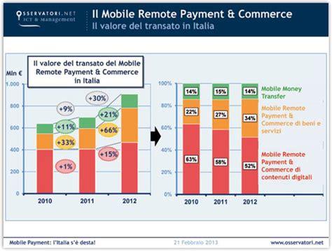 mobile remote payment l italia pronta per il mobile payment addio al contante
