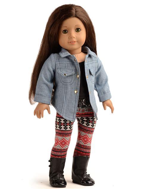 Topi Seven Kingdom Mg Clothing 1 doll clothes denim jacket for 18 inch american doll cad 23 59 picclick ca