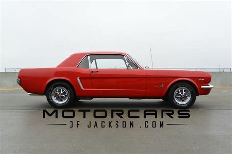 Ford Mustang 65 65 Ford Mustang V8 Coupe Automatic Factory Air Clean