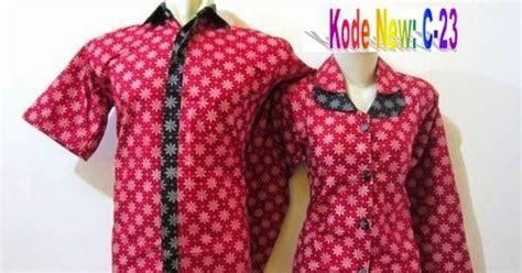 Baju Koko Lengan Panjang Zig Zag 2 katalog model baju batik pria wanita dan modern baju batik kerja modern model kemeja