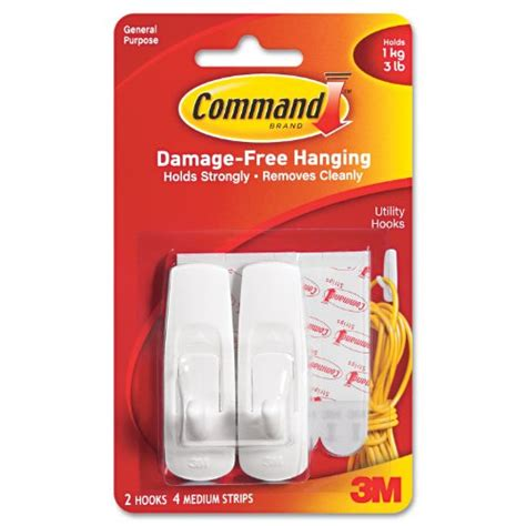 3m command 3 wire hooks w t 4 clear strips blue ace ten colorful ways to decorate your home without paint