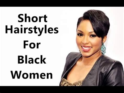 short hairstyles for black african american women youtube