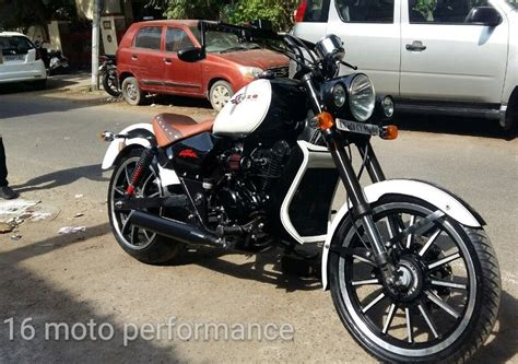 Modified Bikes With Lights by 220cc Bajaj Avenger Cruze Edition By 16 Moto Performance