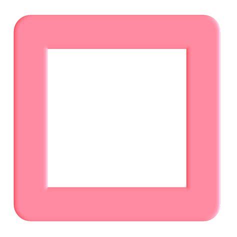 pink clip art pink square clip art cliparts