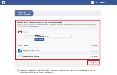 ingin membuat facebook 3 langkah mudah dalam membuat facebook r malik