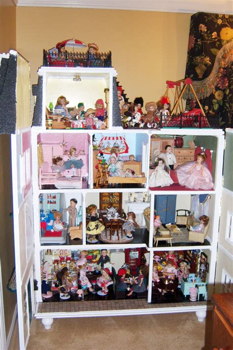 house dolls twickenham doll club kathleen s beautiful ginny doll house