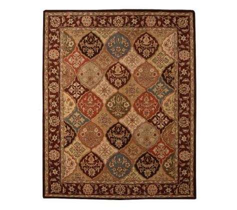 royal palace style panel 8 x11 handmade wool rug