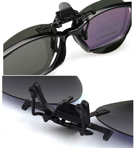 C Clip 4pcs Klip Untuk Kabel Di Frame 1 lensa klip kacamata polarized black black