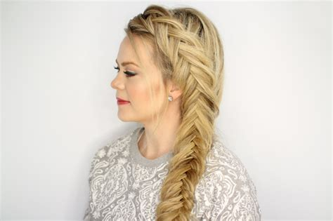 easy hairstyles with box fishtales dutch fishtail braid