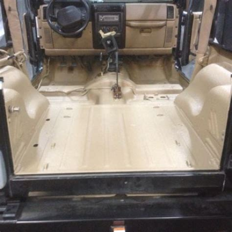Jeep Tub Liner Jeep Wrangler Sprayed Inside Of Tub With Reflex Bed