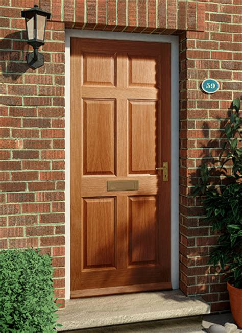 Hardwood Front Door Homeserve Securityhardwood Doors External Doors Exterior Doors Homeserve Security