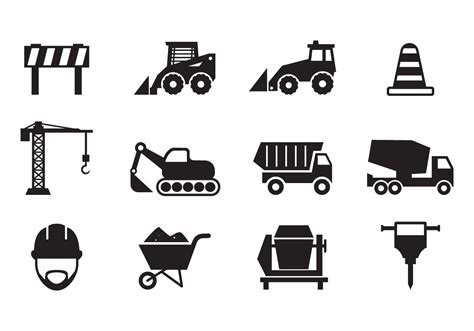Free Construction Icons Vector   Download Free Vector Art, Stock Graphics & Images