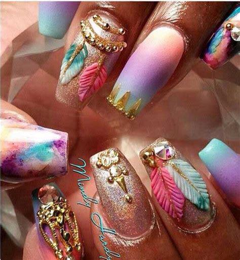 aquarium design nail art really unique crazy nail designs