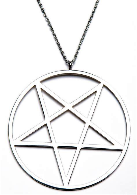 killstar pentagram necklace silver killstar pentagram necklace dolls kill