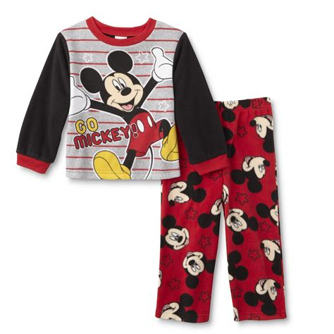 Pajamas Mickey Pp disney mickey mouse toddler boy s pajama shirt